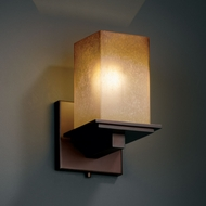 Justice Design FSN-8671 Fusion� Artisan Glass 8.75 Tall Wall Sconce