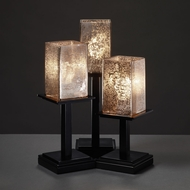 Justice Design FSN-8697 Fusion� Artisan Glass 14  Wide Table Lamp