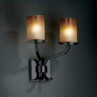 Justice Design FSN-8782 Fusion� Artisan Glass 14  Tall Sconce Lighting
