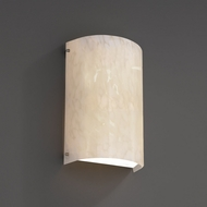 Justice Design FSN-5542W Fusion� Artisan Glass 12.5  Tall Outdoor Sconce Lighting
