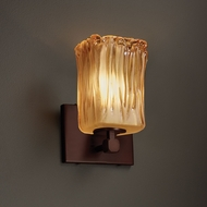 Justice Design GLA-8421 Tetra Veneto Luce Wall Lighting Sconce