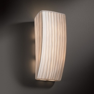 Justice Design PNA-5135 Porcelina� Faux Porcelain 14  Tall Wall Light Sconce
