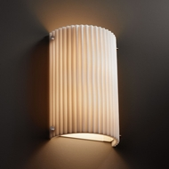 Justice Design PNA-5542W Porcelina� Faux Porcelain 12.5 Tall Exterior Wall Sconce