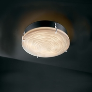 Justice Design PNA-5545-FM Porcelina� Faux Porcelain 12.5  Wide Ceiling Lighting Fixture