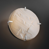 Justice Design PNA-5545-WS Porcelina� Faux Porcelain 4 Tall Wall Lamp