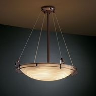 Justice Design PNA-8122 Porcelina� Faux Porcelain 28  Wide Home Ceiling Lighting