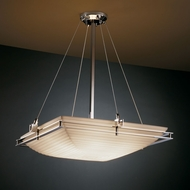 Justice Design PNA-8142 Porcelina� Faux Porcelain 28  Wide Overhead Lighting Fixture