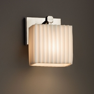 Justice Design PNA-8427 Tetra Porcelina ADA Compliant Light Sconce