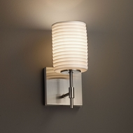 Justice Design POR-8411 Union Limoges Wall Lighting Sconce