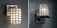 Justice Design WGL-8661 Wire Glass� 8.75  Tall Wall Lighting