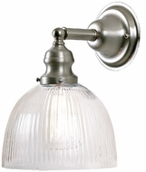 JVI Designs 1210-17-S5-CR Union Square Pewter Wall Mounted Lamp