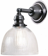 JVI Designs 1210-18-S5-CR Union Square Gun Metal Wall Light Sconce
