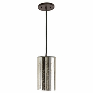 JVI Designs 1300-08-G5-AM Grand Central Oil Rubbed Bronze Finish 10  Tall Mini Drop Ceiling Lighting