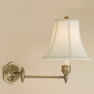 JVI Designs 323 9 Inch Tall Transitional Swing Arm Wall Lamp