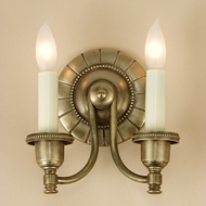 JVI Designs 827 2 Candle 7 Inch Wide Transitional Wall Light Fixture
