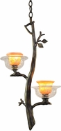 Kalco 2519 Cottonwood Rustic Halogen Mini Pendant Lamp