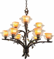 Kalco 2525 Cottonwood Country Halogen Chandelier Lamp