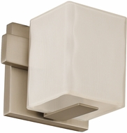 Kalco 307531SN Catalina Contemporary Satin Nickel LED Light Sconce