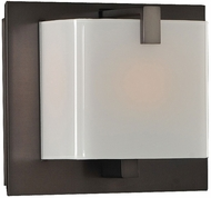 Kalco 313231BBN Meridian Brushed Black Nickel Xenon Lamp Sconce