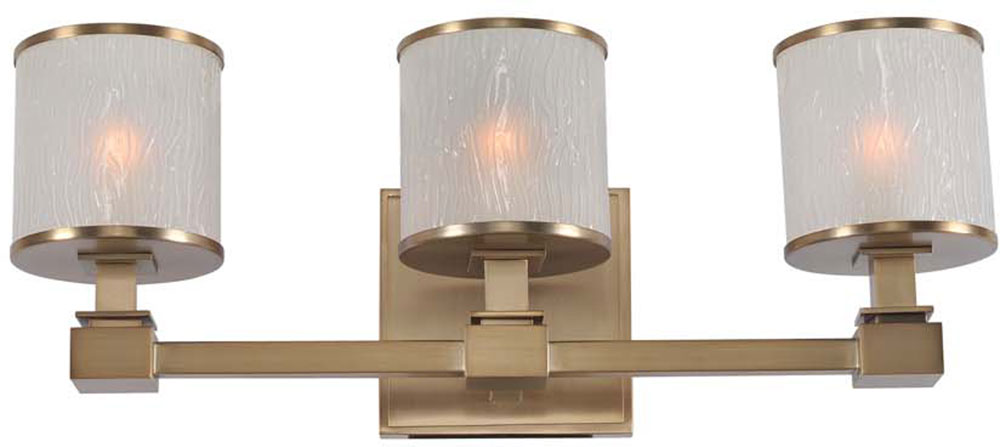 Kalco 313533BRB Destin Brushed Bronze Xenon 3-Light