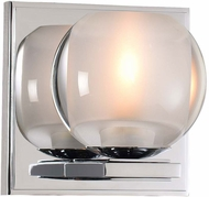 Kalco 315031CH Corona Contemporary Chrome LED Wall Sconce Lighting