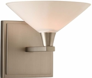 Kalco 315131SN Galvaston Satin Nickel LED Wall Lighting Sconce