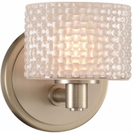 Kalco 315531SN Willow Modern Satin Nickel LED Wall Lighting Fixture