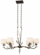 Kalco 501050BJT Denali Bronze Jewel Tone Mini Chandelier Lamp