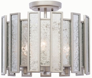Kalco 505041TS Palisade Modern Tarnished Silver Ceiling Lighting Fixture