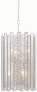 Kalco 505051TS Palisade Contemporary Tarnished Silver Drum Ceiling Light Pendant