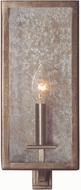 Kalco 506021RSL Camilla Rustic Silver Leaf Lamp Sconce