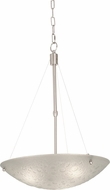 Kalco 5091 Cirrus Contemporary Satin Nickel 15  Wide Pendant Light