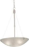 Kalco 5092 Cirrus Modern Satin Nickel 20  Wide Lighting Pendant