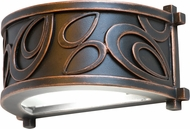 Kalco 5492 Asiana Asian Antique Copper LED Outdoor Wall Lighting