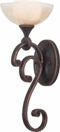 Kalco 6491 Arroyo Antique Copper Halogen Wall Light Fixture