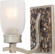 Kalco 7211 Largo Tarnished Silver Sconce Lighting