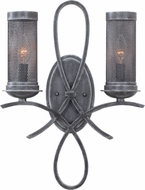 Kalco 7526 Delancy Vintage Iron Wall Light Fixture