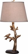 Kenroy Home 32295BRZD Tweeter Country Bronzed Table Lamp Lighting