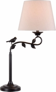 Kenroy Home 32612ORB Birdsong Rustic Oil Rubbed Bronze with Gold Highlights Table Lighting