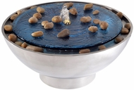 Kenroy Home 50064SS Frost Stainless Steel LED Exterior Bowl Fountain