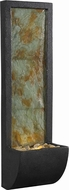 Kenroy Home 50200SL Walla Natural Slate with Oil Rubbed Bronze LED Indoor Wall Fountain