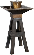 Kenroy Home 50613CPBZ Kenei Copper Bronze Halogen Outdoor Floor Fountain