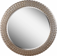 Kenroy Home 61016 Bracelet Brushed Silver and Gold Wall Mounted Mirror