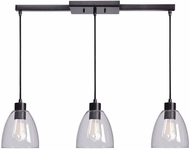 Kenroy Home 92099ORB Edis Modern Oil Rubbed Bronze Multi Drop Lighting Fixture