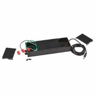 Kichler 10191BK Black Material (Not Painted) 60W Direct Wire Power Supply