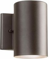 Kichler 11250AZT30 Contemporary Textured Architectural Bronze LED Exterior Wall Sconce