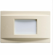 Kichler 12675ALM Step and Hall Light Contemporary Almond LED Step Light