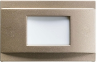 Kichler 12675NI Step and Hall Light Contemporary Brushed Nickel LED Indoor Step Light