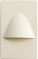 Kichler 12677ALM Step and Hall Light Contemporary Almond LED Step Light