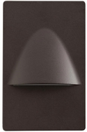 Kichler 12677AZ Step and Hall Light Modern Architectural Bronze LED Indoor Step Lighting